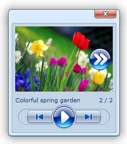 html popup windows sample gallery javascript description